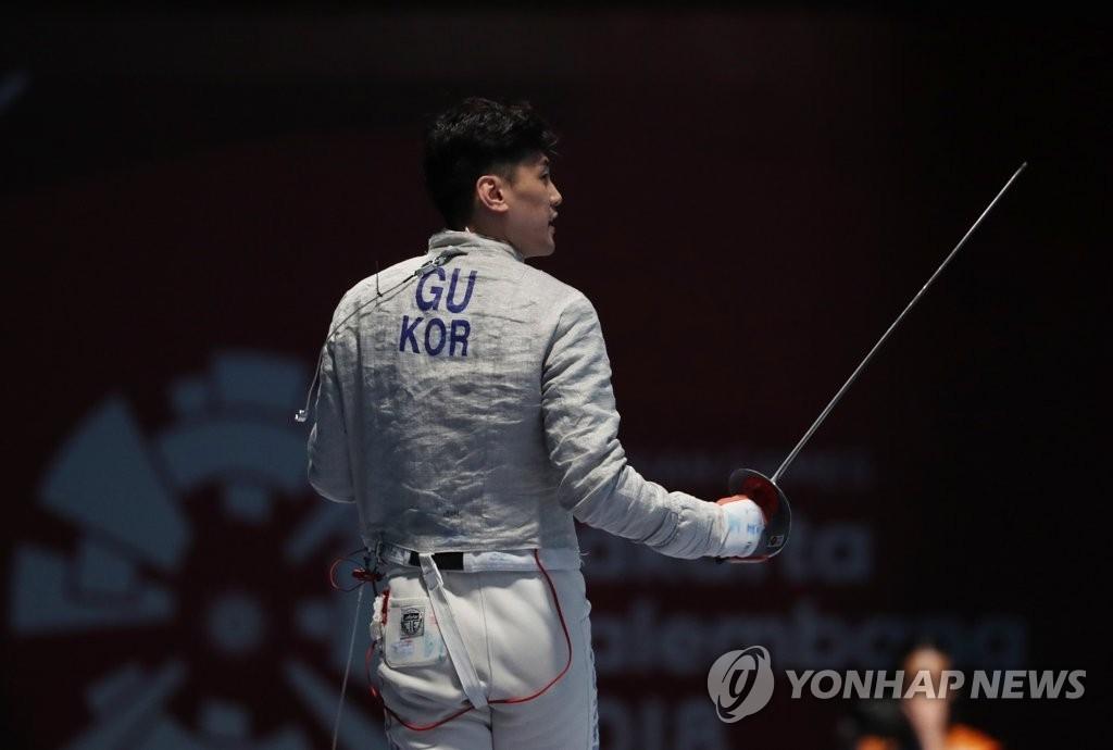 亚运男子佩剑韩国包揽金银