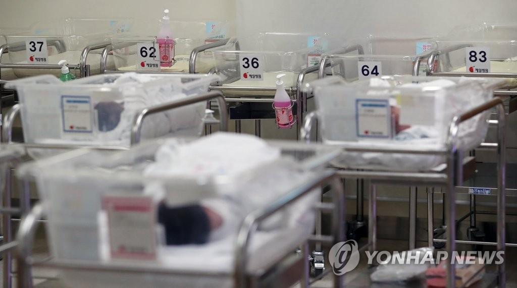 统计:韩6月出生数降8.7% 连创27月新低