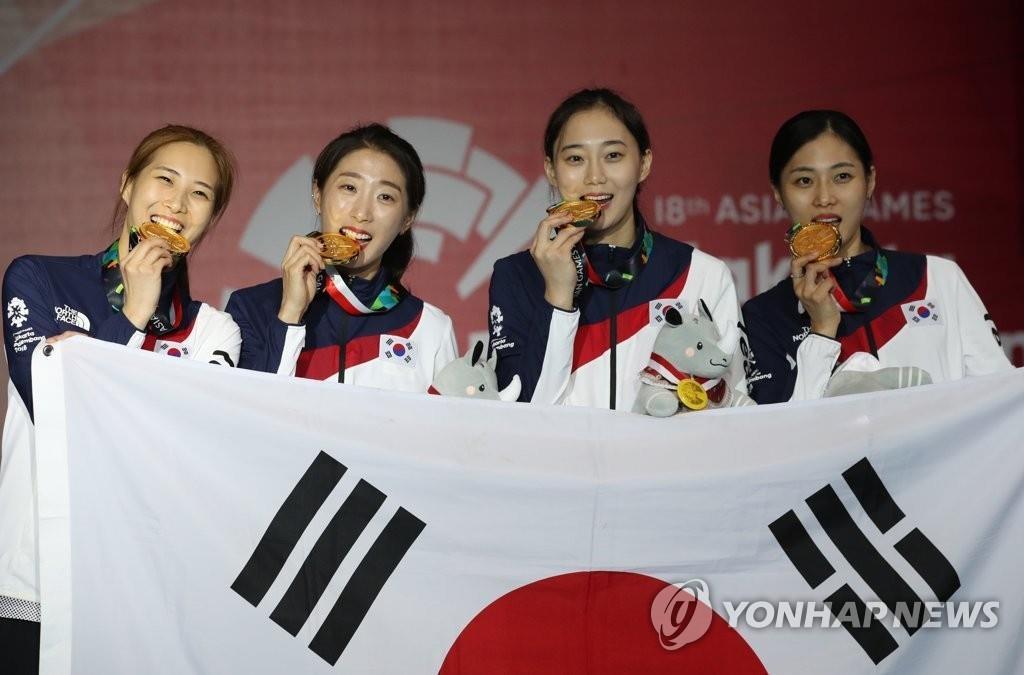 雅加达亚运第五天 韩国金牌歉收争二吃紧