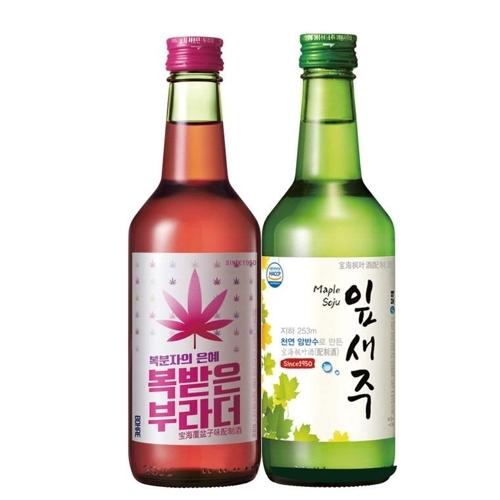韩国烧酒品牌宝海产品在上海沃尔玛上架