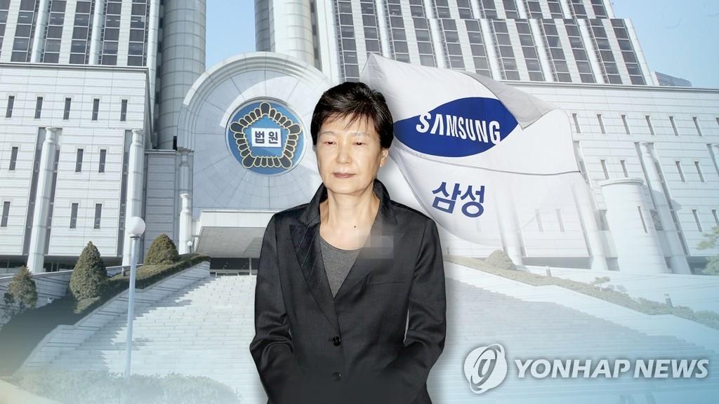 朴槿惠亲信干政案二审加刑 法院认定三星行贿