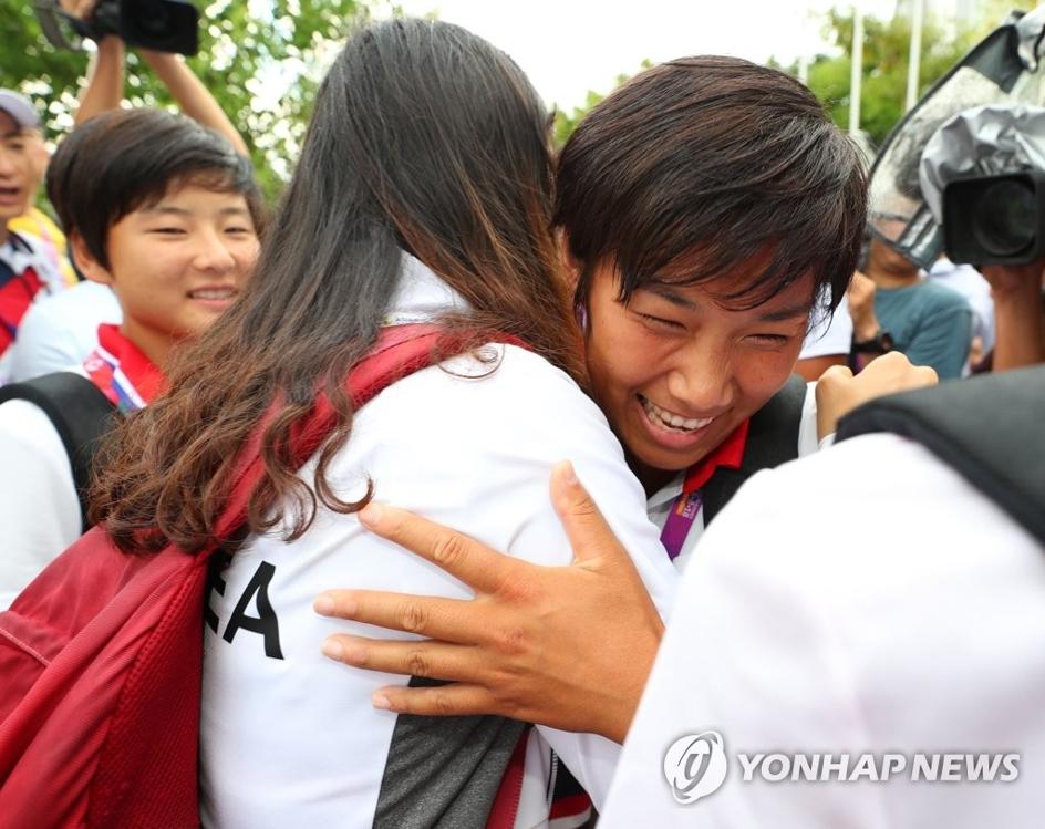 韩朝亚运划艇联队今解散