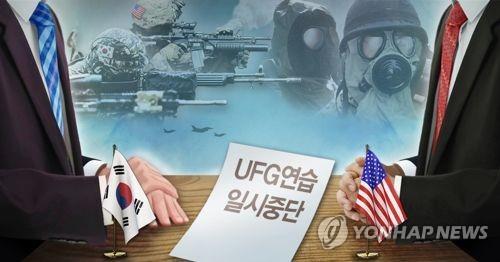韩国防部:韩美尚未讨论重启联合军演