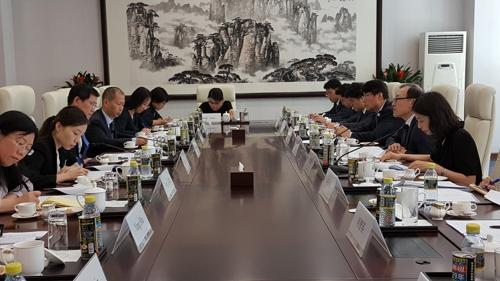 韩中举行第20轮领事磋商