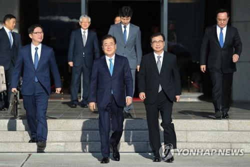 详讯:韩国总统特使团抵平壤正与朝方会谈