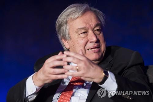 联合国秘书长望文金会就无核化问题取得进展