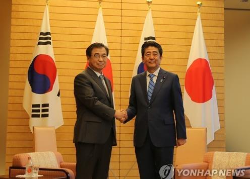 详讯:韩情报首长会晤安倍晋三介绍特使团访朝结果