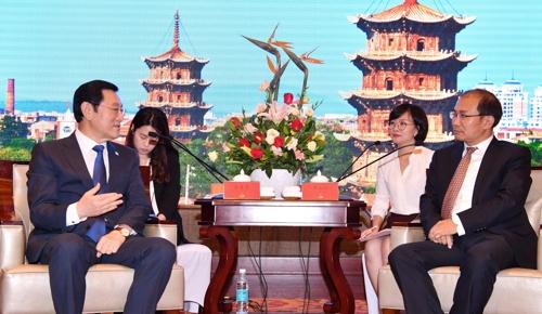 韩国光州与泉州加强文化经济交流合作