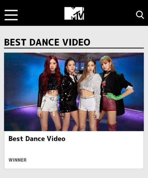 BLACKPINK获MTV日本音乐录影带大奖提名
