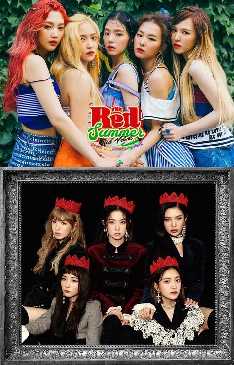 Red Velvet又两支热歌MV播放量破亿