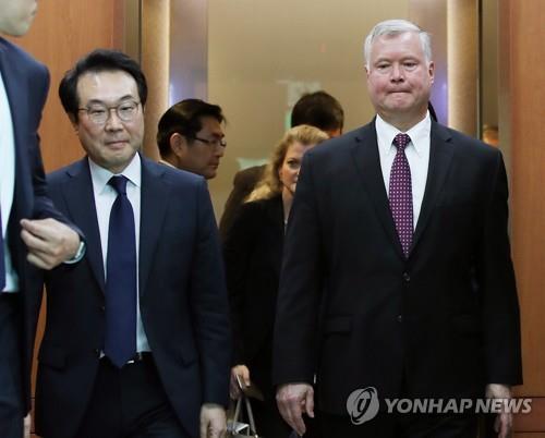美国对朝代表或在访问中日后再访韩