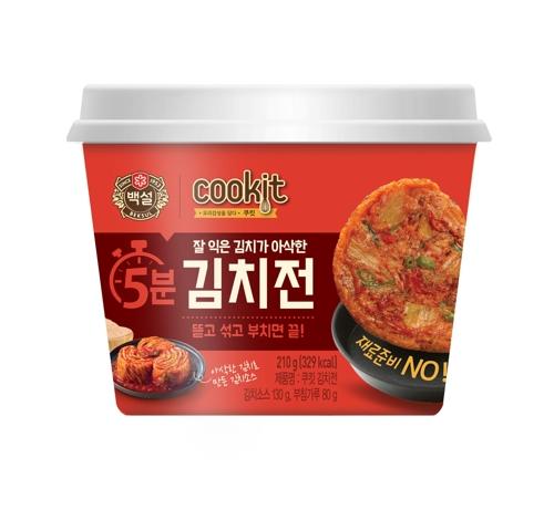 中秋佳节临近 韩方便类煎饼销量大增