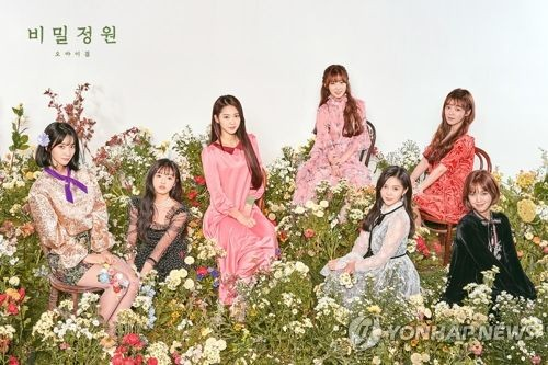 OH MY GIRL(WM娱乐供图)