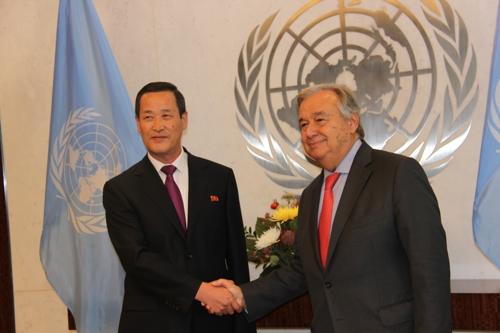 朝鲜新任常驻联合国代表履新