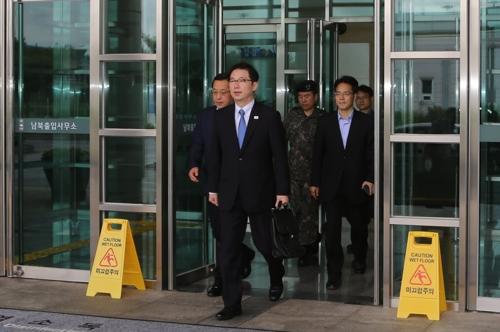 韩朝联办韩方主任首次到现场办公