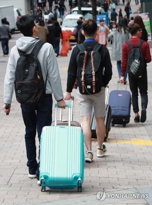 8月韩国接待外国游客同比增26%