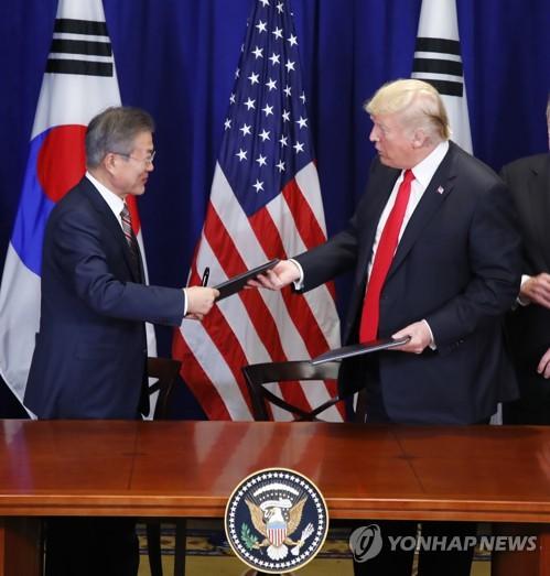 文在寅:韩美FTA将为企业营商活动提供稳定环境