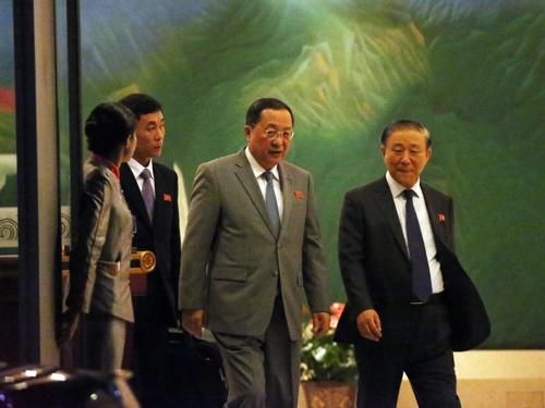 朝鲜外相抵京或与中方接触