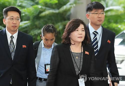 朝鲜副外相抵京 或介绍朝美核谈情况