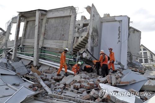 印尼地震中失踪的韩公民确认身亡