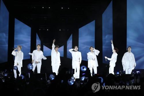 BTS新辑连续6周跻身美公告牌专辑榜200强