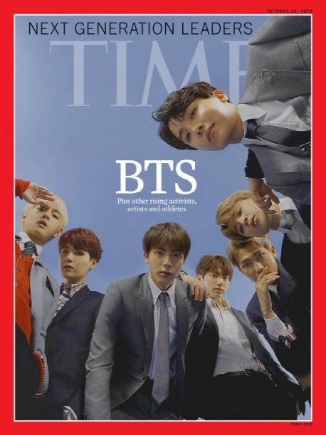 BTS登《时代》封面 亚洲版首批预售告罄