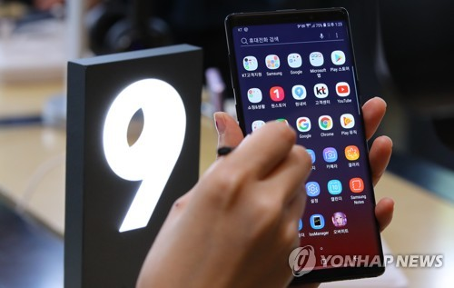 三星Galaxy Note9在韩销量破百万