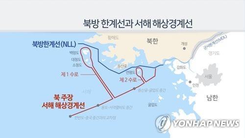 韩军强调北方界线是韩朝海上分界线