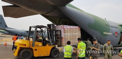 韩军机在印尼救灾任务延长至下周