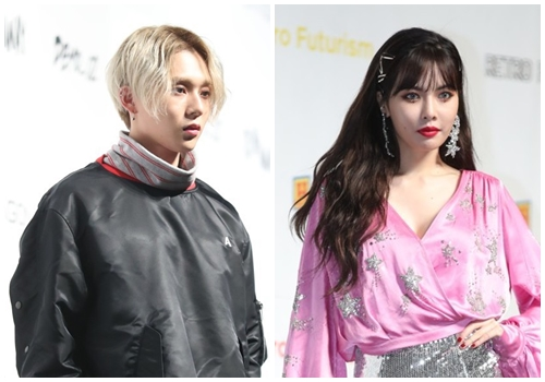 资料图片:E'Dawn(左)和泫雅(韩联社)