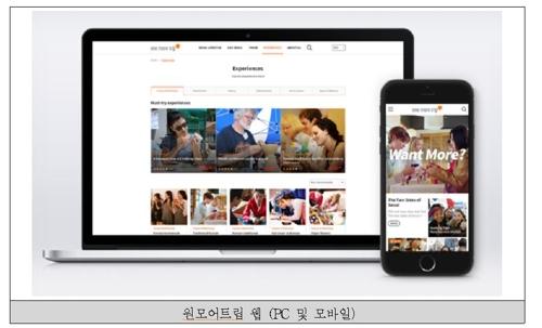 外国散客首尔游产品官方平台改版
