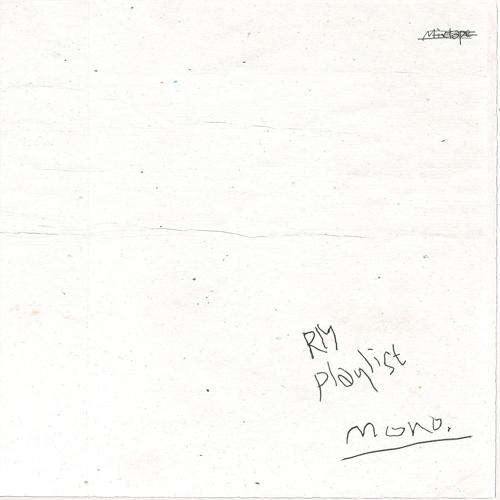 BTS队长RM的歌曲合集《mono.》封面照(Big Hit娱乐供图)