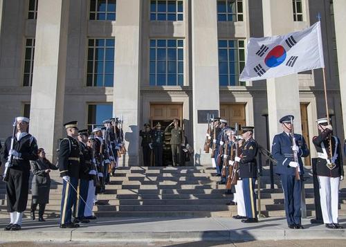 第43次韩美军事委员会会议在华盛顿举行
