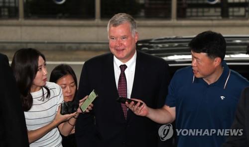 美对朝政策代表今访韩讨论无核化问题