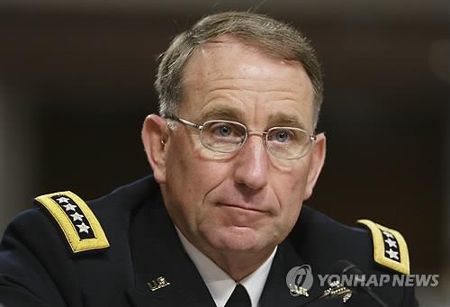 候任驻韩美军司令艾布拉姆斯上将(韩联社)