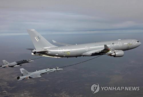 韩军即将接收首架空中加油机