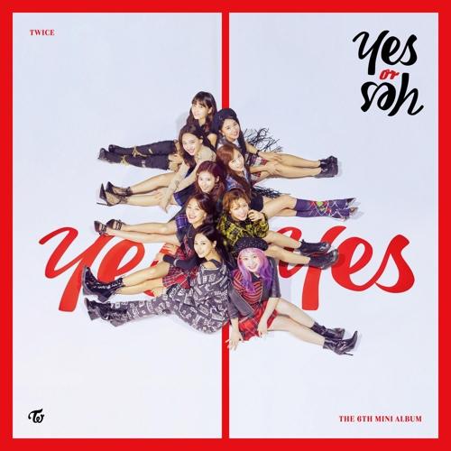 TWICE回归预告海报(JYP娱乐供图)