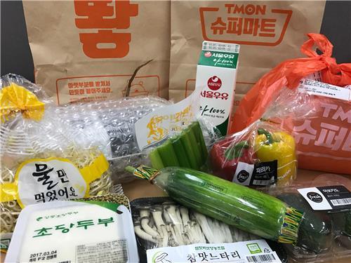 网购生鲜食品受韩国人青睐 大米最热销