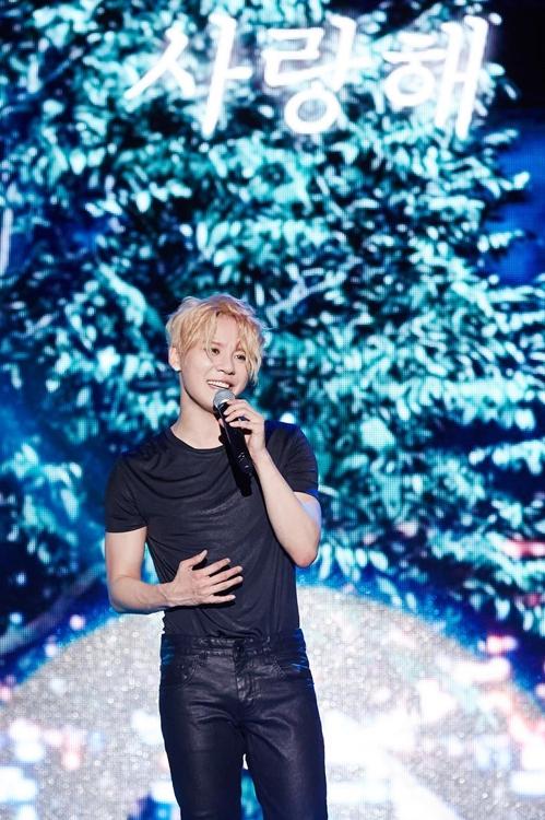 歌手金俊秀(C-JeS娱乐供图)