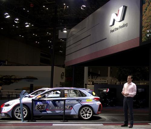 现代汽车在中国进博会首推高性能N系