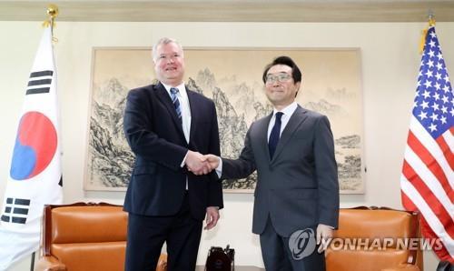韩美对朝代表或在朝美高级别会谈后会晤