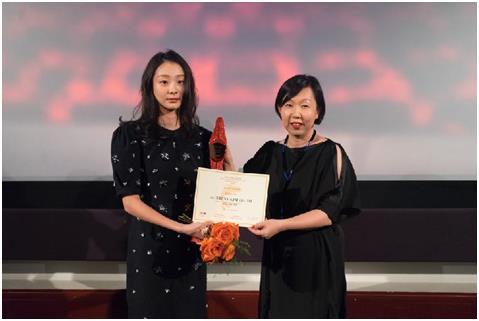 韩国演员金多美获伦敦东亚电影节最佳新人奖