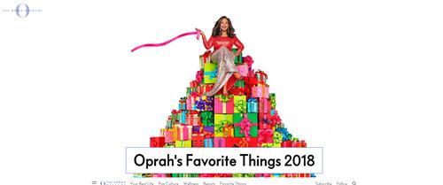 三星电视连续三年入选奥普拉最爱单品榜单