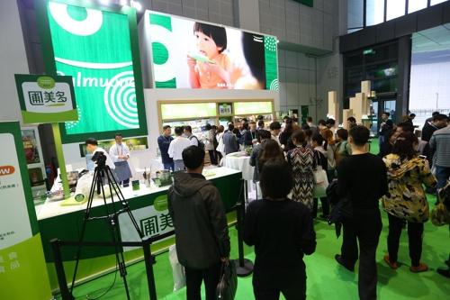 韩国食品企业圃美多亮相中国进博会