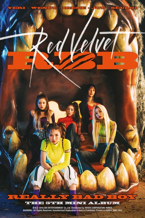 Red Velvet将携新辑回归