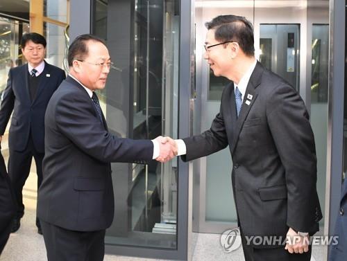 韩朝今举行联办主任会议