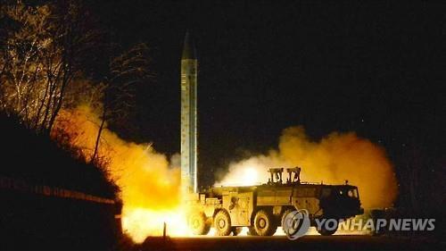 韩军方:韩美密切监视朝鲜所有导弹基地