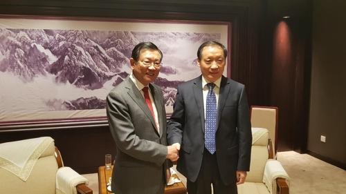韩中友协会长在京与中国文化和旅游部领导会面