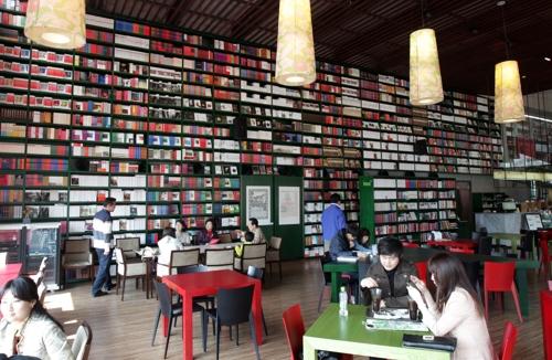 Foresta咖啡厅(韩联社)