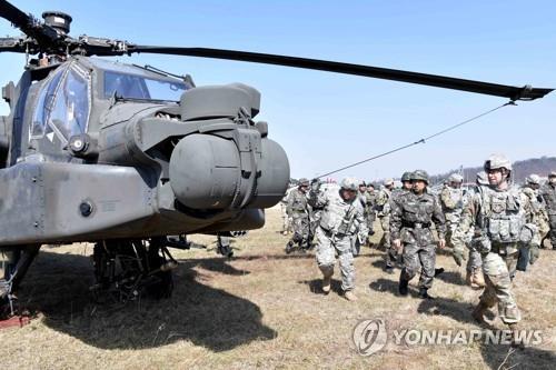 韩美考虑明年联演从简为无核化让路